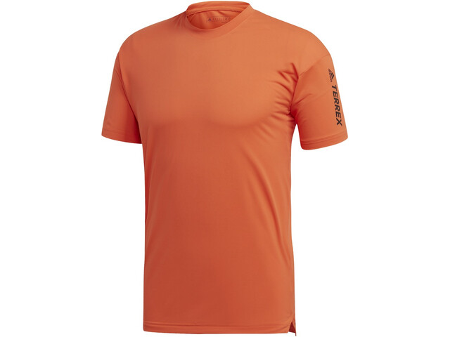 adidas TERREX AGR Alla T-shirt Homme, true orange